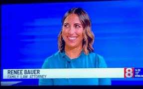 Renee Bauer on the news